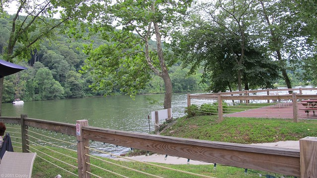River view from patio