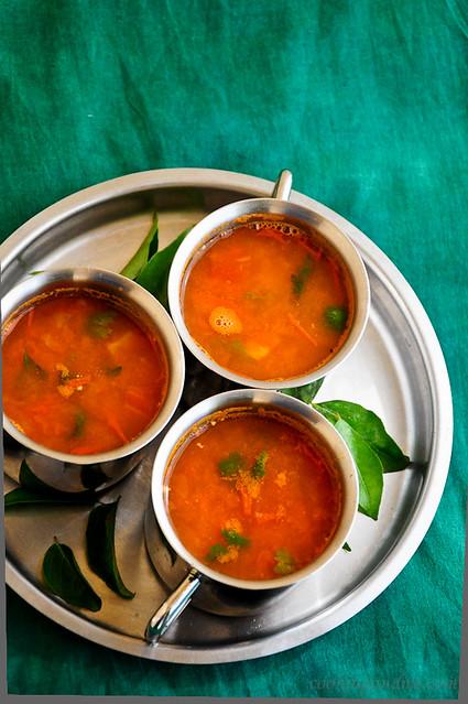 tomato juice rasam recipe
