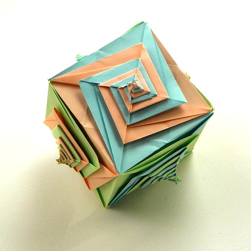 A Cube by Tomoko Fuse