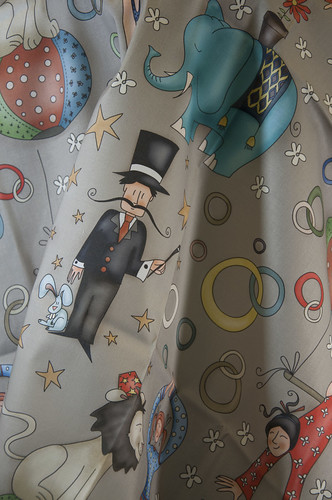Fun Circus! by catru by Spoonflower Fabrics