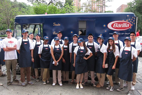 The Barilla Truck Crew
