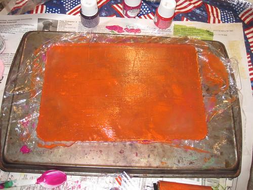 painted gelatin