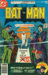 Batman #291 (micky the pixel) Tags: comics comic heft dc batman grab grave thejoker theriddler poisonivy thescarecrow lexluthor catwoman jimaparo