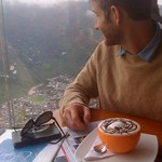 "Nick with Chocolate and Baños <a style=""margin-left:10px; font-size:0.8em;"" href=""http://www.flickr.com/photos/14315427@N00/6052552171/"" target=""_blank"">@flickr</a>"