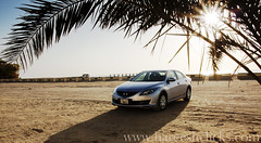Introducing ....Maszzzzda 6 (Hareesh.P) Tags: beach car automobile earlymorning palmtree lensflare starbust wwwhareeshclickscom masda6