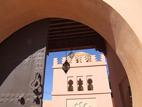 le mausolée d'Ibn Abbad