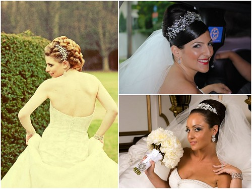 high bridal up do's, bridal hair jewelry, Bridal Styles Boutique, New York