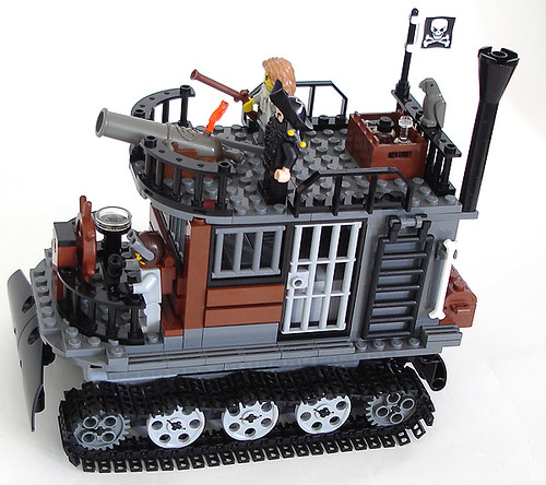 Remote controlled Blackbeard's Tank