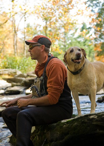 Today's Orvis Dog of the Day- Travis' Fishing Buddy