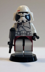 Commander Baccara front (Iceman792) Tags: lego clone commander minifigure baccara
