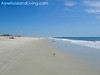 Blue Sky, Wide Flat Beach on Amelia Island