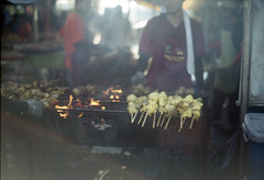* (-nasruddinmukhtar-) Tags: slr analog 50mm nikon bokeh candid super 200 malaysia analogue 135 nikkor 35 ramadhan bazar kotabharu fm2 lemak f12 kelantan bakar wideopen 2011 uxi efiniti nasruddin perkarangan nasruddinmukhtar stadiumsultanmohammad4