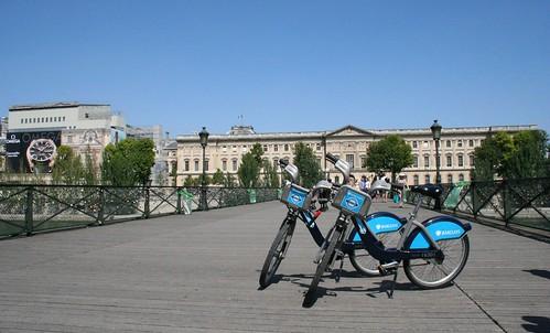 On the Pont des Arts