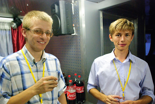 Alexey and Ilya
