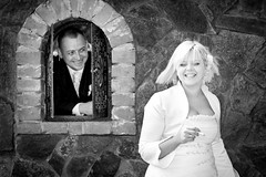 Gosia i Krzych (tokeler) Tags: wedding smile flickr smoke award bwphotography flickrunitedaward