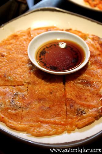 Kimchi pancake, Assa Restaurant