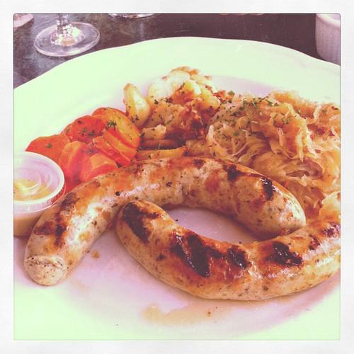 Mmmmmmmm Bavarian sausage