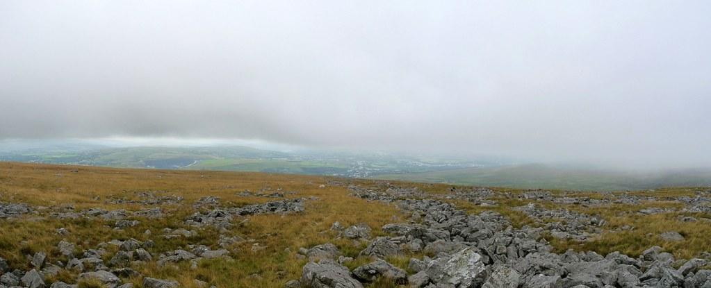 View from Garreg Lwyd, Mynydd Du