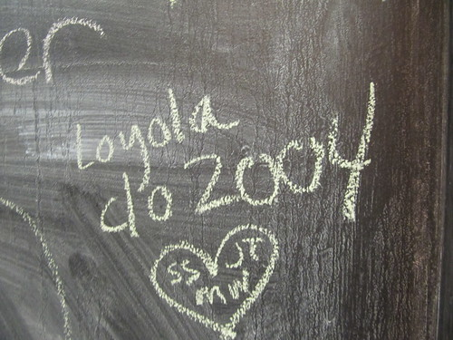 Chalkboard Bathroom