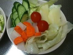 朝食サラダ(2011/8/23)