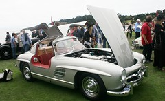 Mercedes Gullwing (Pro Photo Photography) Tags: pebblebeachconcours2011 pebblebeach prophoto prophotophotography dusenberg ferrari 250gt0 prophophotography pebblebeachconcoursconcours de elegance delahaye delage alfa duesenberg