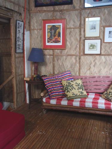 Bahay kubo living room