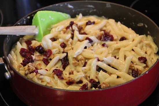 blog lovelymissmegs megan august break food pasta cheese recipe cranberries delicious yummy