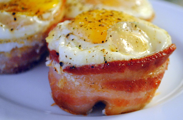 Bacon, Egg and Toast Cups | I have moved to http://crazyjamie.com/