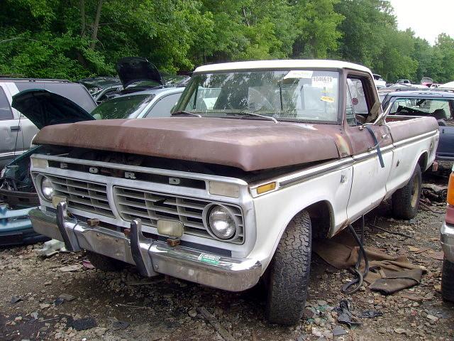 ford truck pickup 1975 junkyard salvage f250 jessupmd crazyrays