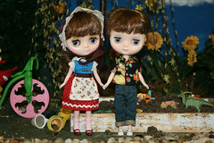 meet Beatrice and Bartholomew...aka Bea and Bart