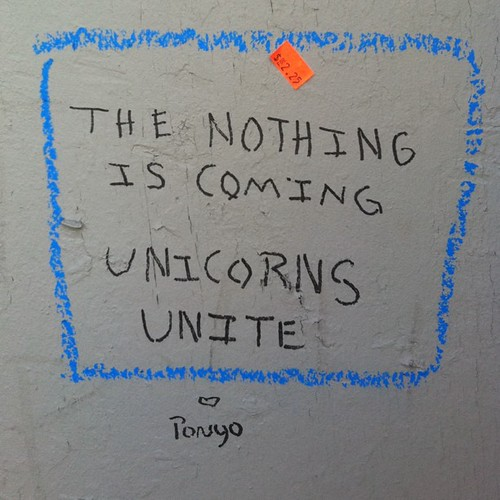 The nothing is coming - unicorns unite!