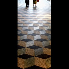 after lunch (overthemoon) Tags: people brown black feet walking grey schweiz switzerland 3d galeries floor suisse legs picasa lausanne montage svizzera opticalillusion trompeloeil vaud stfranois romandie utata:color=black bestofr imageposie sailsevenseas utata:project=tw279 georgesepitaux18731957 josephaustermayer
