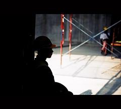 Waiting for the next shift (khai_nomore) Tags: film 35mm lowlight bokeh scanned slides rf transparencies rm wideopen velvia50 rvp50 fujifilmvelvia leicam3ds bokehlicious autaut leicasummicron502