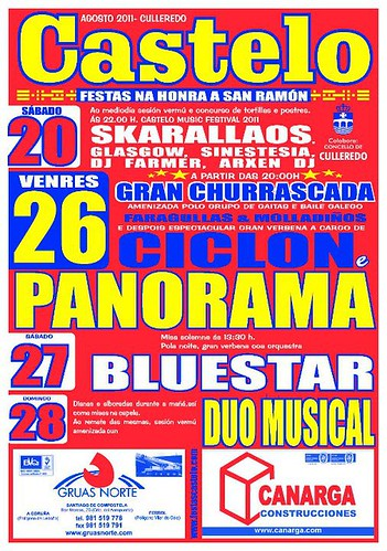 Culleredo 2011 - Festas de San Ramón en Castelo - cartel