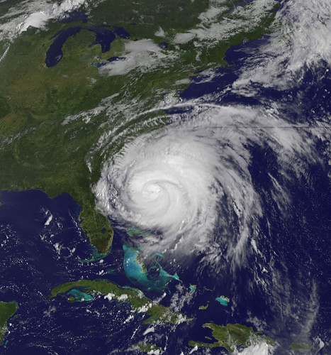 Hurricane Irene Captured August 26, 2011