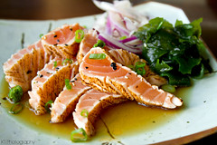 Salmon Tataki (gtsomething) Tags: