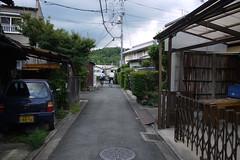 Cycling boys near Hanazono Station Kyoto