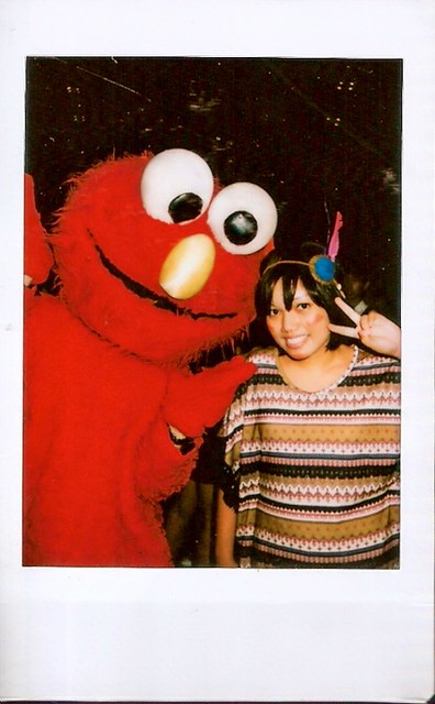 Me and Elmo, how can I not resist?