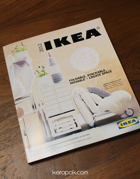 Ikea Catalogue - Book of Temptation