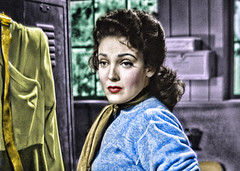 Movie Star Linda Darnell is Anxious (Walker Dukes) Tags: california pink blue red orange woman white black color green film beautiful beauty television yellow canon hair gold screenshot glamour eyes purple young lips hollywood actress movies filmstill filmstills actor diva tcm moviestills topaz moviestill turnerclassicmovies moviestars oldmovies picturesofthetelevision televisionshot topazadjust