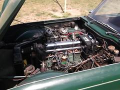 Triumph TR4(2) (cjp02) Tags: show classic car vintage indiana days british motor zionsville fujipix av200 cjp02 triumphtr4indy