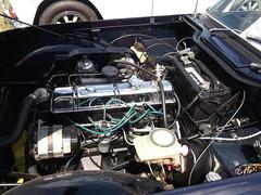 1968 TR4  TR250(4) (cjp02) Tags: show classic car vintage indiana days british motor zionsville fujipix av200 cjp02 1968tr4tr250indy