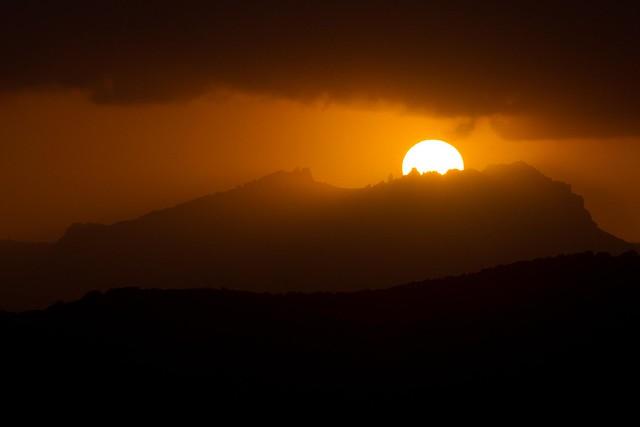 MONTSERRAT - SUNSET
