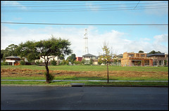 - (purple camel) Tags: leica urban analog forest 35mm estate suburban kodak townhouse hill australia melbourne rangefinder victoria 400 housing analogue australien gentrification portra development m4 ugliness banal generic townhouses banality homogeneous 3151 3131