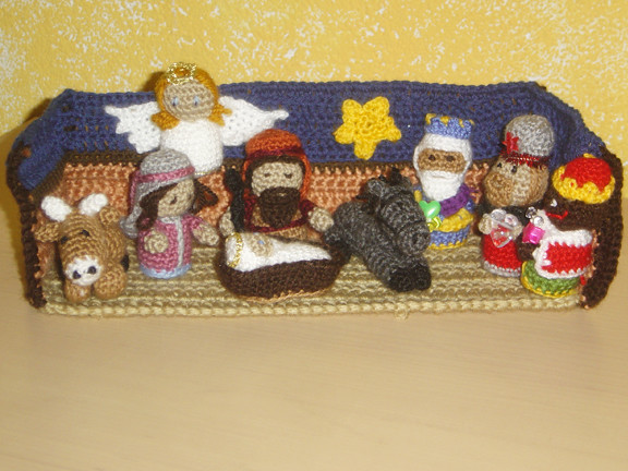 Belen Nativity Amigurumi : The Worlds Best Photos of crochet and nativity - Flickr ...