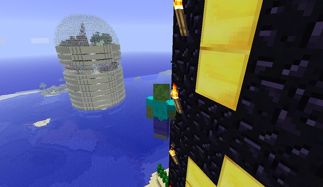 La Subitour vue depuis la tour de Los Modernos.