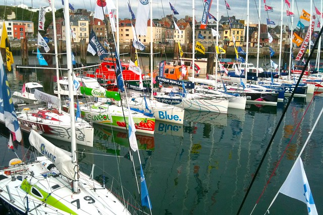 Dieppe - Finish La Solitaire du Figaro