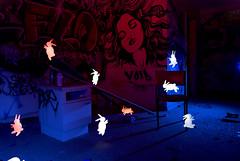 Hotel California (proper dave) Tags: california light night painting hotel melbourne lapp lightpainters