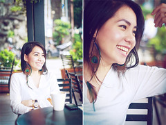 blogpost8 (joms-allsunday) Tags: coffee smile shop female asian chillin pinay filipina relaxed