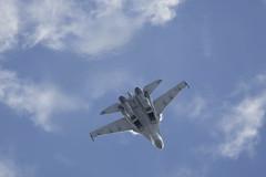 Fighting the impossible IV (Alvaro Aviation) Tags: russia moscow aviation airplanes jet vapor militaryaviation zhukovsky aviasalon ramenskoye ef300mmf28lisusm russianairforce canon5dmarkii superflanker flankere су35 trustvector zhukovskyairbase 901black ef14xextenderiii maks11 sukhoisu35s